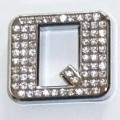 Crystal Letter Silver - Q