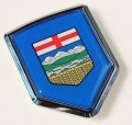 Canada Alberta Flag Crest Car Badge