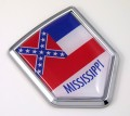 Mississippi Flag Crest Car Badge