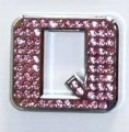 Crystal Letters Pink - Q