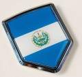 El Salvador Flag Crest Car Badge