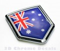 Australia Flag Crest Car Badge