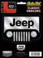 Embossed Jeep Logo Decal