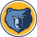 NBA Memphis Grizzlies Color Auto Emblem