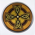 Celtic Domed 2 3D Chrome Background Adhesive Car Badge
