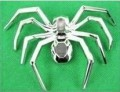 Spider Chrome Emblem 2 Car Badges