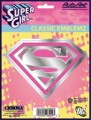 Embossed Pink SuperGirl Decal