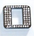 Crystal Letter Silver - O