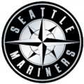 MLB Seattle Mariners Chrome Auto Emblem