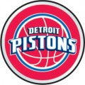 NBA Detroit Pistons Color Auto Emblem