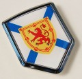 Canada Nova Scotia Flag Crest Car Badge