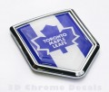 Canada Toronto Maple Leafs NHL Flag Crest Car Badge