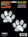 Embossed Paw Print Decals