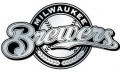 MLB Milwaukee Brewers Chrome Auto Emblem