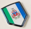 Canada Yukon Flag Crest Car Badge