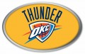 NBA Oklahoma City Thunder Color Domed Decal
