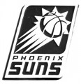 NBA Phoenix Suns Chrome Emblem