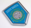 South Dakota Flag Crest Car Badge