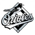 MLB Baltimore Orioles Chrome Auto Emblem