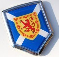 Scotland Flag Crest Car Badge