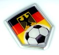 Germany Soccer 3D Crest Car Badge