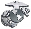 Marine Glob Insignia DETAIL Emblem Car Badge