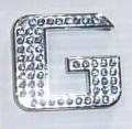 Crystal Letters Blue - G