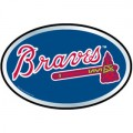 MLB Atlanta Braves Color Auto Emblem