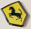 Ferrari Flag Crest Car Badge