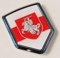 Belarus Flag Crest Car Badge
