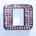 Crystal Letters Pink - O