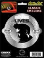 Embossed Elvis Lives Decal