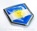 Argentina Flag Crest Car Badge