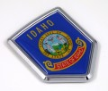 Idaho Flag Crest Car Badge