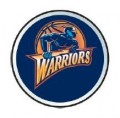 NBA Golden State Warriors Color Auto Emblem