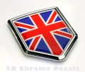 Great Britain Flag Crest Car Badge