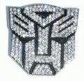 Transformer Autobot BLING Emblem Car Badge
