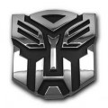 Autobot Transformer Car Badge