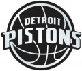 NBA Detroit Pistons Chrome Emblem