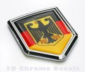 Germany Flag Crest Car Badge