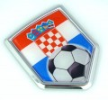 Croatia Soccer 3D Crest Car Badge