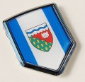 Canada Northwest Territories Flag Crest Car Badge