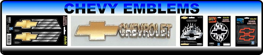 Chevy Car Emblems