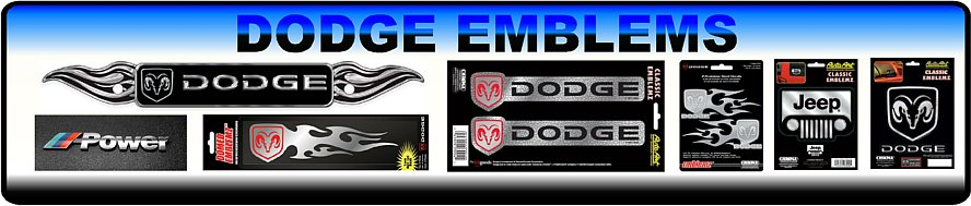 Dodge Emblem Collection