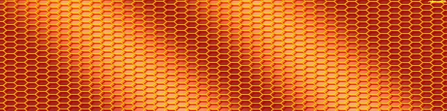 Honey Comb See Thru Graphics