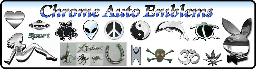 Abs chrome auto badges