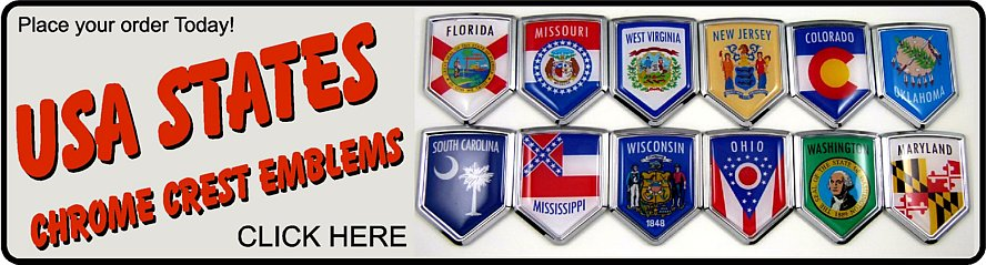 State Car Badges