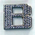 Crystal Letters Blue - B