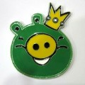 Bird Pig King Car Emblem Car Badge