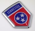 Tennessee Flag Crest Car Badge